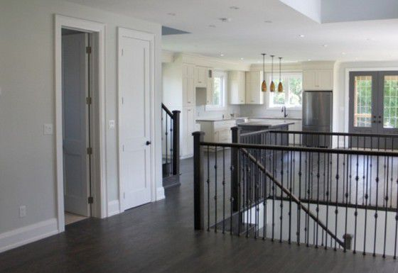 Upstairs renovation