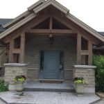 Front entrance Custom home builder