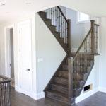 Custom Built 2 storey Home staircase